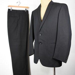 vintage 50's Alexandre London suit 42 wool silk